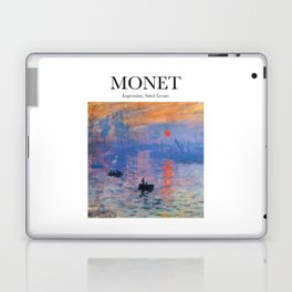 Monet - Impression, Soleil Levant Laptop & iPad Skin