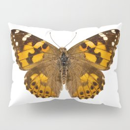 "Butterfly species Vanessa cardui ""Painted Lady"" Pillow Sham"