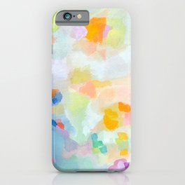 Stone Harbor Floral Abstract  iPhone Case