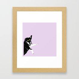 Carly Feelin Cute Framed Art Print