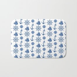 Ships Anchor Beach House Bath Mat