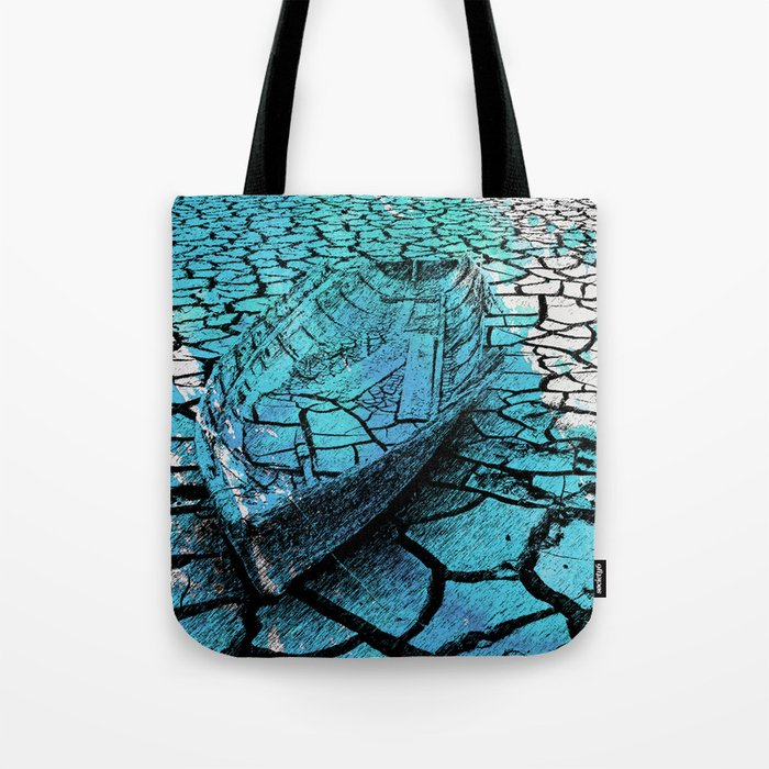 SEA ON DRY GROUND Tote Bag