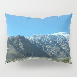 Mountain Snow in Palm Springs California Pillow Sham