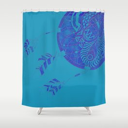 Faded Dreams Shower Curtain