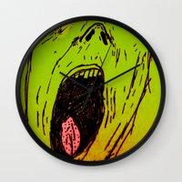 marley Wall Clocks featuring Marley by Zoé Rikardo