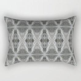 SnowDiamondsOfGray Rectangular Pillow