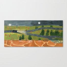 Decision Canvas Print