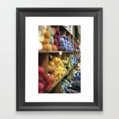 Yarn Barn Framed Art Print