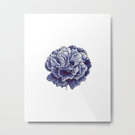 Blue Rose Metal Print