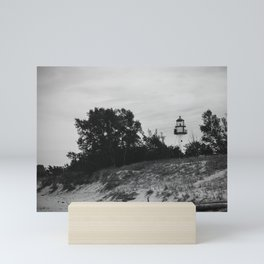 WhiteFish Point Light Station Mini Art Print