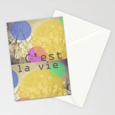 c'est la vie. Stationery Cards