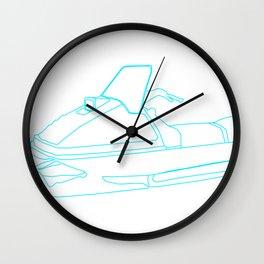 ski-doo Wall Clock