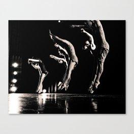 Rehearsal - Dancer Series 1 Canvas Print