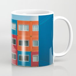 Colorful Container house Amsterdam Coffee Mug