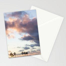 Cotton Candy Palms Stationery Cards
