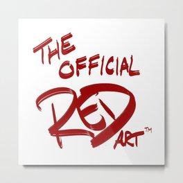 REDart TM logo Metal Print