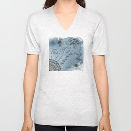 Mysterious Melodies Unisex V-Neck
