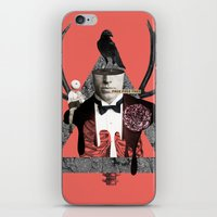 death iPhone & iPod Skins featuring Death by Repulp