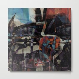 disquiet twenty five (I'm absent from the place I ought to be) Metal Print