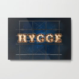 Hygge -  Wall-Art for Hotel-Rooms Metal Print