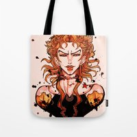 jjba Tote Bags featuring DIO by vvisti