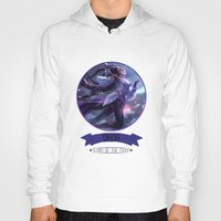 league of legends Hoodies featuring League Of Legends - Diana by TheDrawingDuo