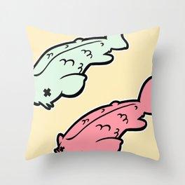 More Koi! Throw Pillow