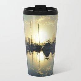 marina morning Travel Mug