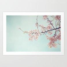 Spring happiness Art Print