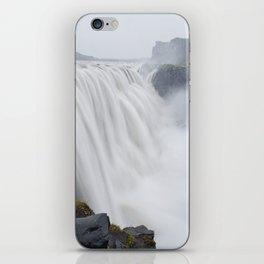 The greatest waterfall in Europe iPhone Skin