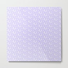 mojave, lilac tribal pattern Metal Print