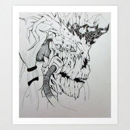 Viri Breather Art Print