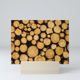 Fresh wood scent, decorative for home Mini Art Print