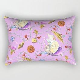 Stu's delightful meditation Rectangular Pillow