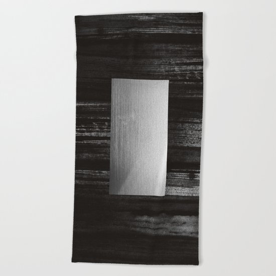 silver Beach Towel