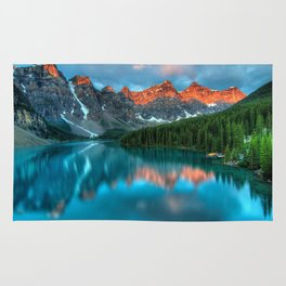 A beautiful lake paradise Rug