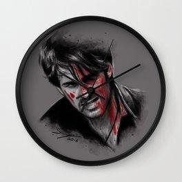 Broken, Beat & Scarred Wall Clock