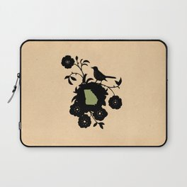 Georgia - State Papercut Print Laptop Sleeve