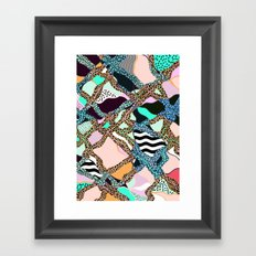 ELECTRIC VIBES Framed Art Print