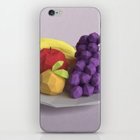 fruit iPhone & iPod Skins featuring Fruit by CharismArt