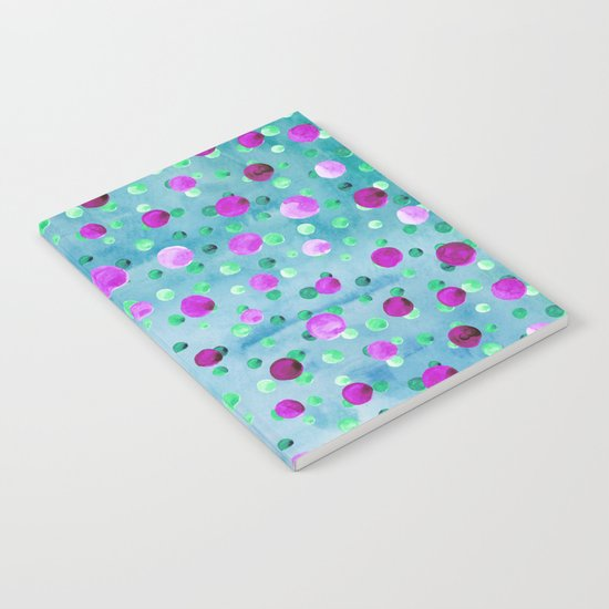 Polka Dot Pattern 10 Notebook