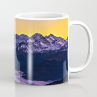 giants Mugs featuring Swiss Giants by Czech the Count