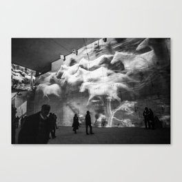 CAVES Canvas Print