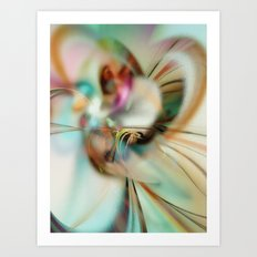 The Soft Breeze of Spring Art Print