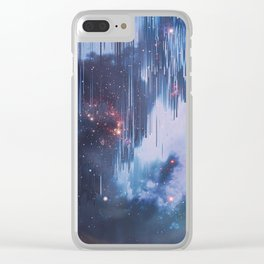 Twinkle Little Stars Clear iPhone Case