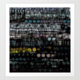 :: Sleep Study :: Art Print