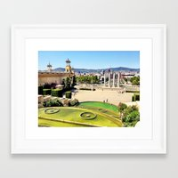 spain Framed Art Prints featuring Spain by Emily DiLaura