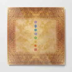 Chakras Kali | Beyond the time  Metal Print
