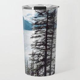Mountain Lake Retreat Travel Mug