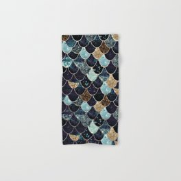 REALLY MERMAID - MYSTIC BLUE Hand & Bath Towel